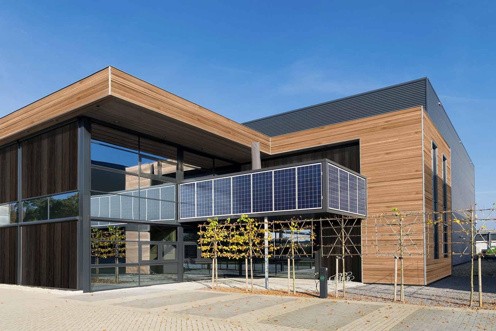 revêtement extérieur imitation bois en aluminium extrudé